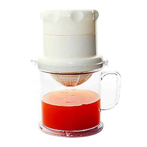 Handentsafter Einfache Handentsafter-Maschine Baby-Plastik Mini-Entsafter mit frischen Früchten