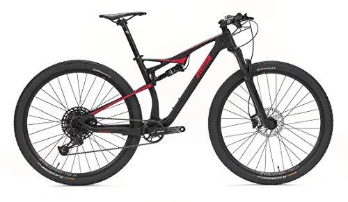 CLOOT Bicicleta Carbono Doble Suspension 29 Evolution FS 9.0 1X12 Eagle Boost, SRAM Eagle 11-50, Horquilla Rockshox Judy,Amortiguador Sontour Edge, Frenos hidráulicos Shimano. (Talla L (1.79-1.88))