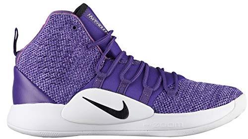Nike Men's Hyperdunk X Team Basketball Shoe Court Purple/Black/White Size 9.5 M US