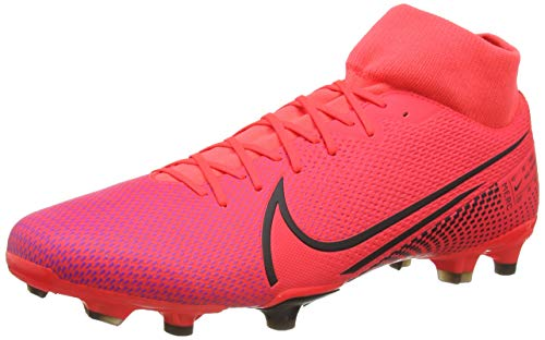 Nike Superfly 7 Academy Fg/Mg, Men's Football Boots, Red Laser Crimson Black Laser Crim 606, 11.5 UK (47 EU)