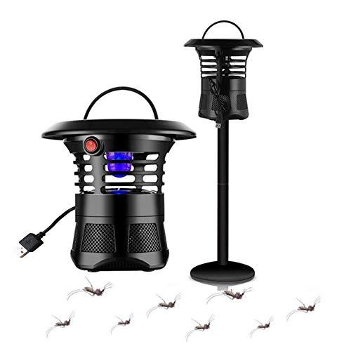 MTSBW Killer eléctrica de Insectos, Asesino del Mosquito del LED, USB electrónica al Aire Libre de la lámpara del Asesino del Mosquito, Conveniente para el jardín, Patio, terraza, Dormitorio