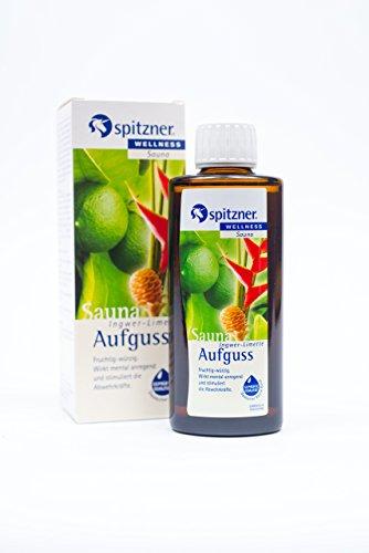 Spitzner Saunaaufguss Wellness Ingwer-Limette (190ml) Konzentrat