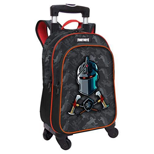 FORTNITE Mochila Adaptable con Trolley, Unisex niños, Multicolor, 31X42X15
