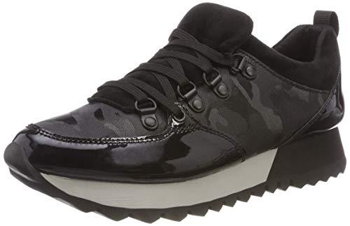 s.Oliver Damen 5-5-23612-21 098 Sneaker, Schwarz (Black Comb 98), 38 EU