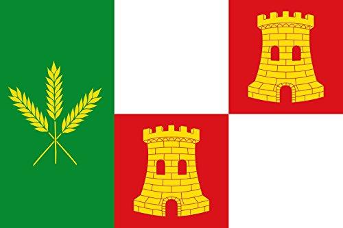 magFlags Bandera Large Municipio de Santo Tomé de Zabarcos Castilla y León | Bandera Paisaje | 1.35m² | 90x150cm