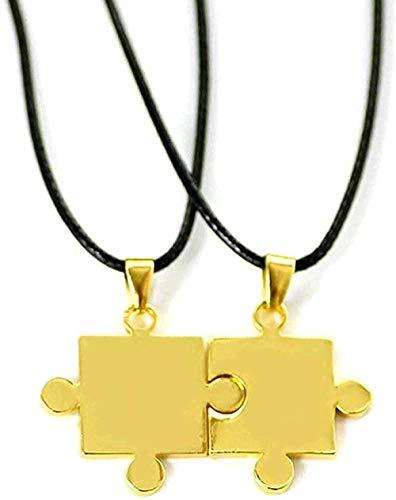 NC110 Halskette Wen Halskette Neue Männer Wen S s Anhänger Halskette Puzzle Liebe Valentinstag S Paare Geschenke Schmuck Accessoires