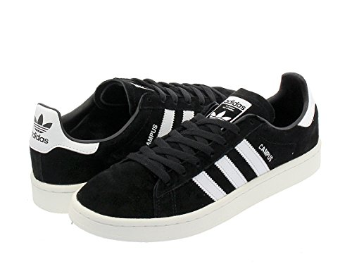 [アディダス] CAMPUS CORE BLACK/RUNNING WHITE/CHALK WHITE Originals