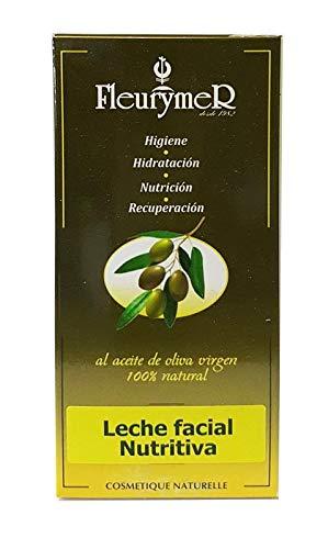 fleurymer-layenberger Fleurymer-con Ingredientes organos-Leche hidratante Oliva orgánica Tubo 50ml, Estándar, Único