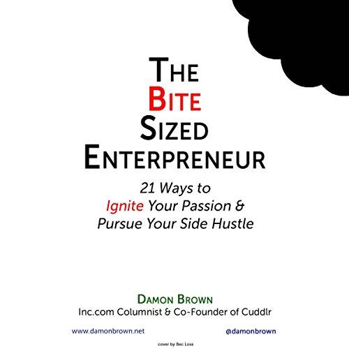 The Bite-Sized Entrepreneur audiobook cover art