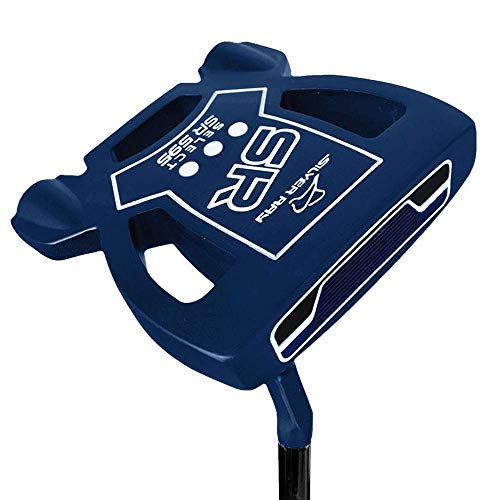 """Ray Cook Golf- Silver Ray Select SR595 Putter 35"""" Navy Blue -  901804"""