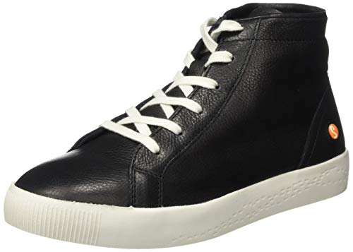 Softinos Damen SALI583SOF Hohe Sneaker, Schwarz (Black 000), 42 EU