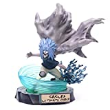Removable Action Figure, PVC Model Figure Naruto Uchiha Sasuke Curse Seal Chidori San DiegoToys Collectible Figurines 26cm-Default