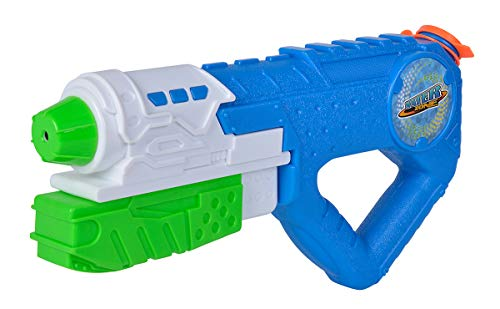 Simba-Waterzone Water Blaster 3000 / Wasserpistole/Pumpmechanismus/Tankvolumen: 800ml / Reichweite: 8m 3000-Pistola de Agua con Mecanismo de Bombeo (800 ml, Alcance de 8 m), Color 1. (10727605
