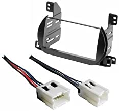 Nissan Altima 2002 2003 2004 Aftermarket Radio Stereo Installtion Install Mounting Trim Double Din Dash Kit + Wire Harness