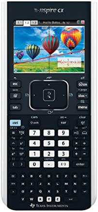 Texas Instruments TI-Nspire CX - Calcolatrice Grafica Scientifica Schermo Colori Con Touchpad