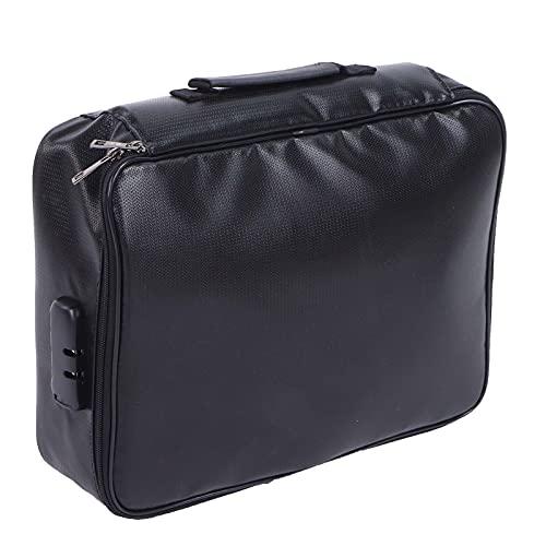 Porta archivos de negocios, bolsa de archivos portátil para viajes