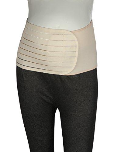 Mee Mee Post Natal Magnetic Maternity Support Corset Belt (XL, Beige)