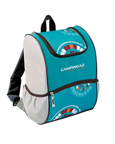 Campingaz Bacpac Ethnic Nevera Flexible, Azul, 9 l
