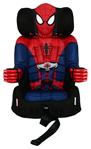 KidsEmbrace Friendship Combination Booster, Ultimate Spiderman, Blue/Red