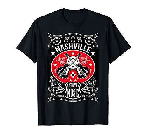 Camisetas Rockabilly Hombre Mujer Ropa Country Nashville Camiseta