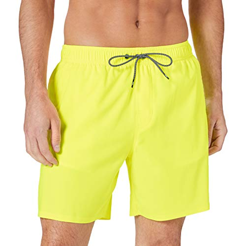 PUMA Swim Mid-Length Men's Swimming Shorts Trunks, Giallo Fluo, M Uomo