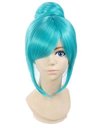 etruke Anime Vert Hatsune Miku Vocaloid Cosplay Perruques