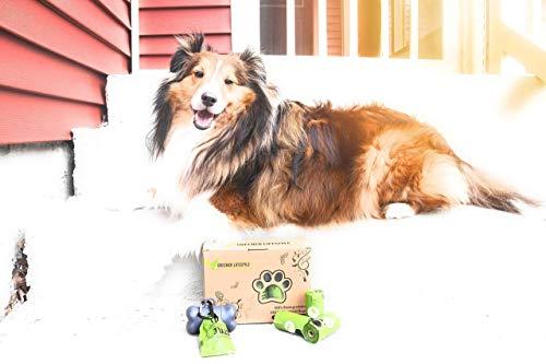 Greener Lifestyle 240 Lavender Scented Dog Poop Bags + 1 Dispenser 3