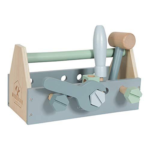 Little Dutch LD4434 juego de rol - Juegos de rol (Construcción, Estuche de juego, 3 año(s), Niño, Niño, Azul)