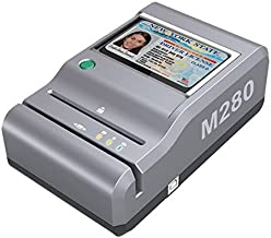 E-Seek M280 ID Reader - USB Flatbed Scanner & 2D Barcode Reader for Desktop