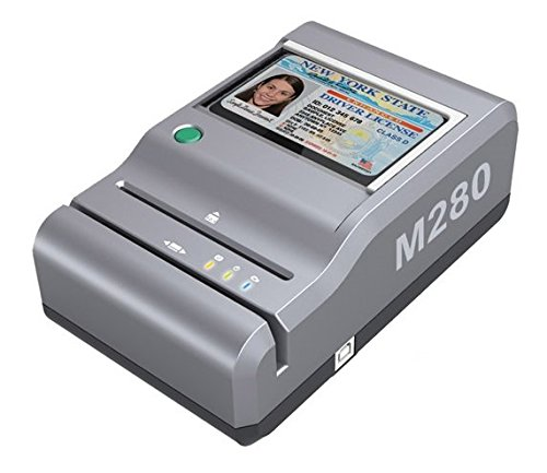 ESeek M280 ID Reader  USB Flatbed Scanner amp 2D Barcode Reader for Desktop