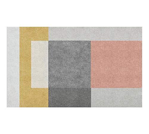 Tapijt, Splijtrooster rechthoekige voetsteun, badmat, eenvoudig en zacht 120cm*160cm