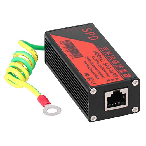 Ethernet-Überspannungsschutz CCTV-Überspannungsschutz für Donnerschutz