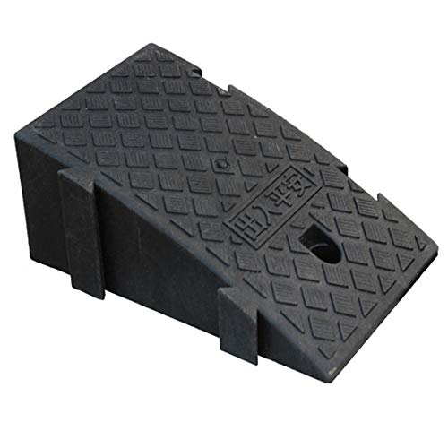 COFFEE Cat Pavement Ramp Heavy Duty Polypropylene Plastic Portable Pavement Ramp (Support 3 Tons/6000 Lbs), Car, Truck, Scooter, Bike, Motorbike