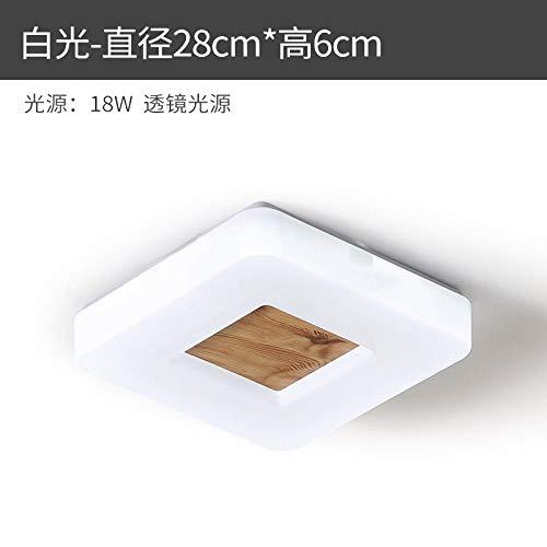 Eenvoudige plafondlamp Japanse eenvoudige keuken LED badkamer modern woonkamer slaapkamer lampen massief hout