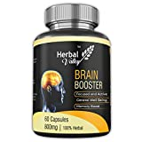 HerbalValley Brain Booster | Pack of 1 | 60 Capsules