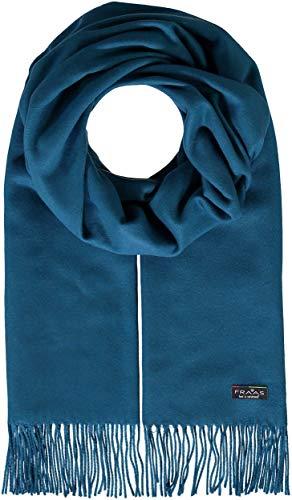 FRAAS Damen-Schal in Uni-Farben aus Cashmink weicher als Kaschmir - XXL-Schal, Made in Germany Petrol