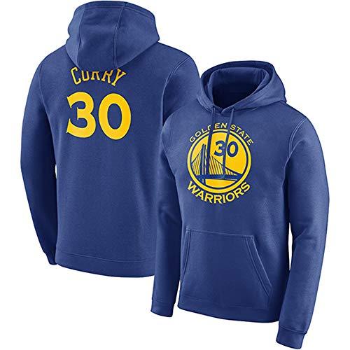 Sudaderas con Capucha para Hombres Aficionados al Baloncesto Jersey Golden State Warriors Stephen Curry Sudaderas con cordón Manga Larga Casual Cómodo Jersey S-XXXL, L