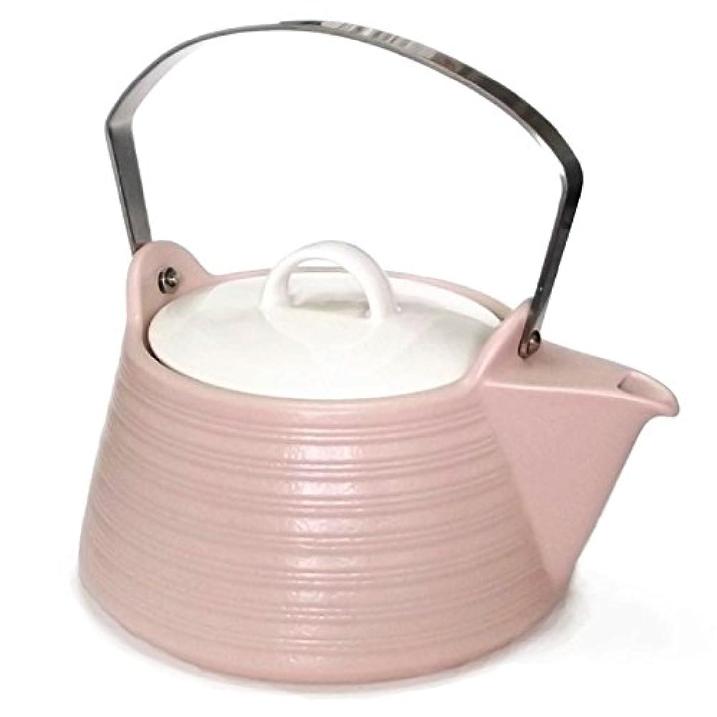 ホームレスかまどそんなにサーマテック IHセラミックケトル 1.5リットル ピンク <IH対応土瓶> 直火もOK!