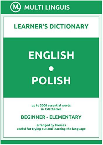English-Polish (the Theme-Arranged Learner's Dictionary, Steps 1 - 2) (English Edition)