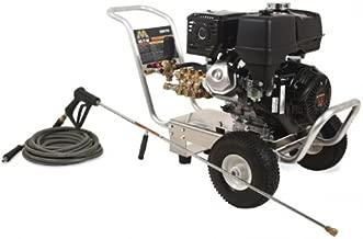 Mi-T-M CA-3504-1MGH CA Aluminum Series Cold Water Direct Drive, 389cc Honda OHV Gasoline Engine, 3500 PSI Pressure Washer