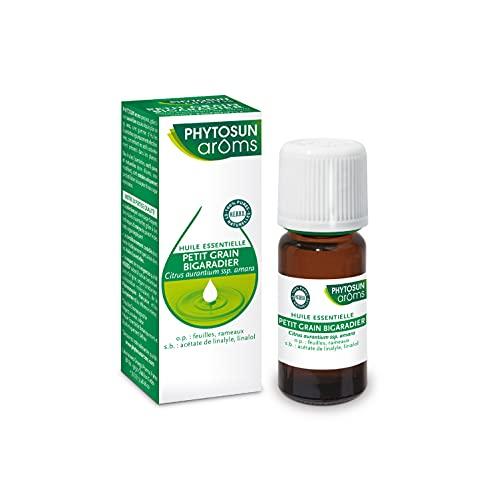 Phytosun Arôms – Huile Essentielle Petit Grain Bigaradier – 100% pure et naturelle – 10 ml
