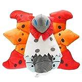 MIL Pokemon Anime Games Pikachu Series Volcarona Plush Toy30Cm, Stuffed Toys A Birthday Present for Children.