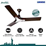 Luminous New York Brooklyn 1200mm Ceiling Fan (Ale Brown)