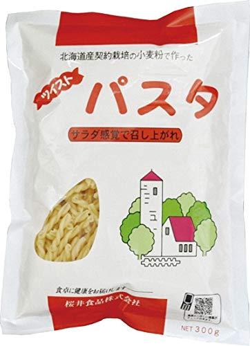 桜井  ツイストパスタ〈北海道産契約小麦粉〉 300g  6個