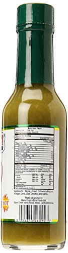マリーシャープス グリーンハバネロペパーソース 鮮烈なカリブの中辛 瓶148ml