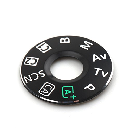 Interface Cap Button Replacement Part for Canon EOS 6D,Dial Mode Plate for Canon eos 6D, Digital Camera Repair Accessories for Canon 6D