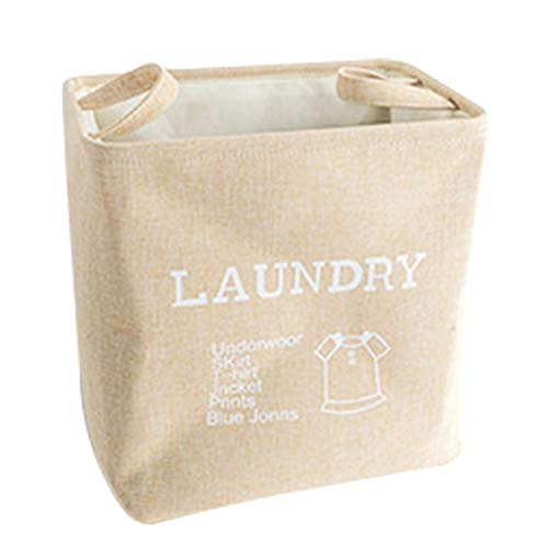 Demarkt Wasmand Opvouwbare waszak kinderen wasmanden met hengsel huishouden kleding Organizer
