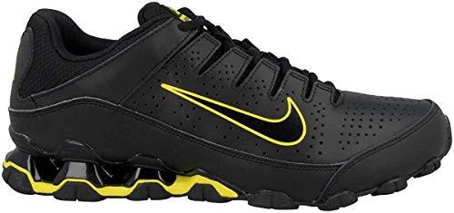 Nike Herren Reax 8 TR Fitnessschuhe, Mehrfarbig (Black/Anthracite/Bright Citron 3), 43 EU