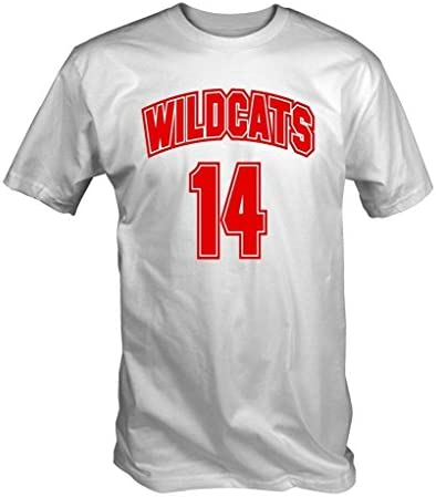 Wildcats 14 Camiseta (Blanco S - XXL) - pequeño, Small: Amazon.es: Deportes y aire libre