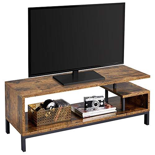 Yaheetech Fernsehtisch TV Schrank Lowboard Tisch Fernsehschrank TV Board 106 x 39.5 x 40 cm